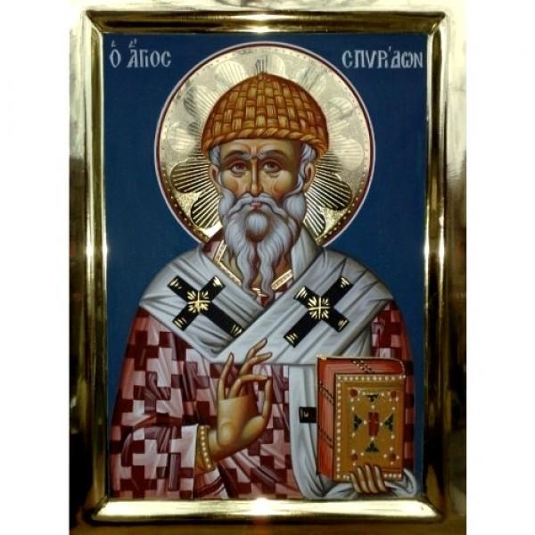 Άγιος Σπυρίδων Αγιογραφία