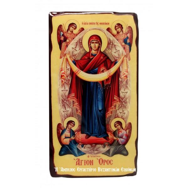 Εικόνα Αγίας Σκέπης του Αγίου Όρους